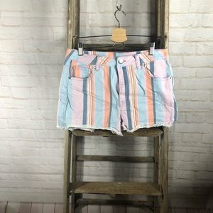 Wild Fable Stripped Shorts
